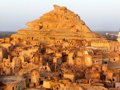 Shali Fortress In Siwa Oasis