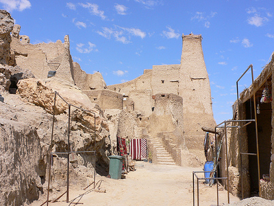 Shali Fortress Remains In Siwa Oasis
