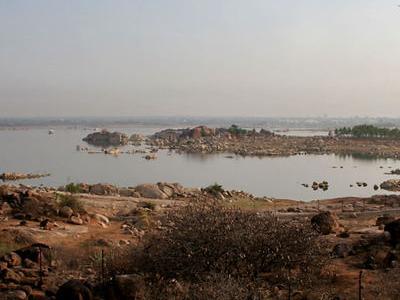 View Of Shamirpet Lake