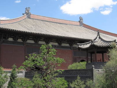 The Daxiongbao Hall Of The Shanhua Temple