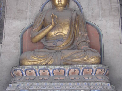 The Central Statue Of Sakyamuni