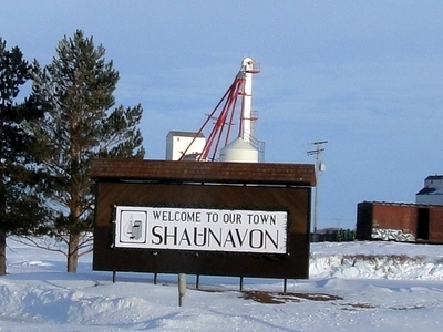 Shanuavon Welcome Sign