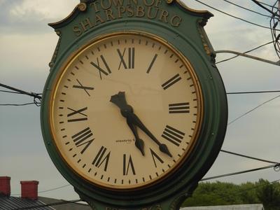 Sharpsburg Clock