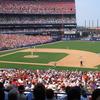 A Baseball Game At Shea Stadium