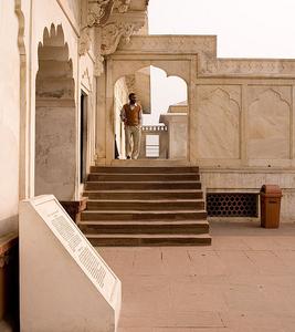 Sheesh Mahal Passageway