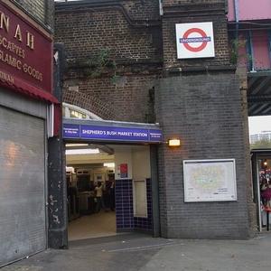 Shepherd's Bush Market Tube Station