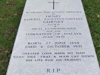 Cheras cementerio cristiano