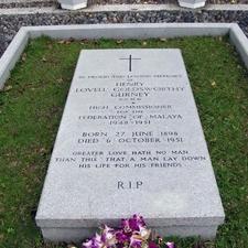 Sir Henry Gurney's Grave