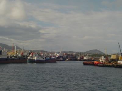 Ships At Perama