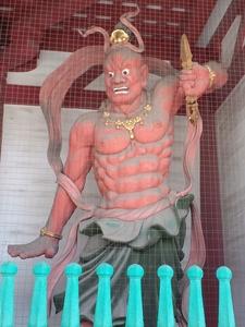 Shitenno Ji Niomon Zou Front View