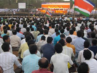Political Rally Shivaji Park