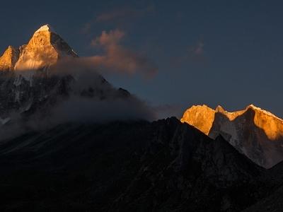 Shivling & Mount Meru UT - Indian Himalayas