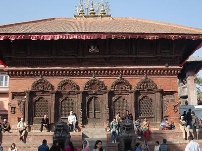 Shiv-Parvati Temple - Durbar Square