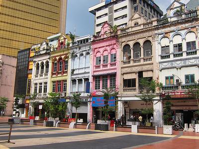 Shophouses Along Jalan Hang Kasturi