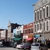 Shops Along Fountain Square In Downtown Bowling Green