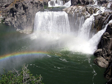 Shoshone Falls In July 2006