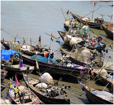 Shrivardhan-Fishing Village