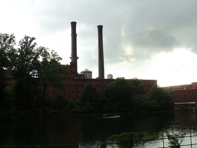 Shuttered Textile Mill  Dan  River  Mills  Danville  Virginia