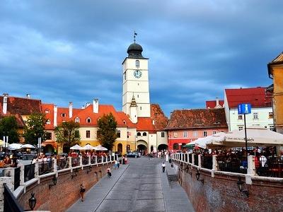 Sibiu Clock Tower - Sibiu County