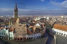 Sibiu Overview - Transylvania - Romania