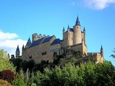 Side View - Alcazar De Segovia - Spain