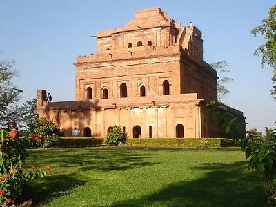 Side View Of Kareng Ghar