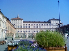 Side View Of The Royal Palace