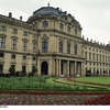 Side View Of Wurzburg Residenz Palace