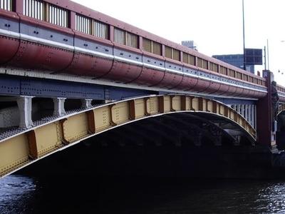 Side View Vauxhall Bridge