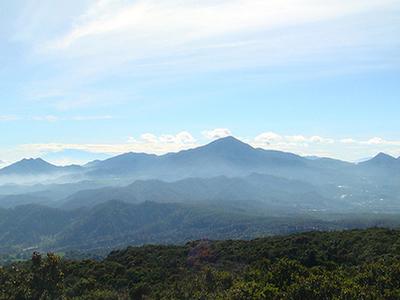 Sight From Tangkuban Perahu Mt.