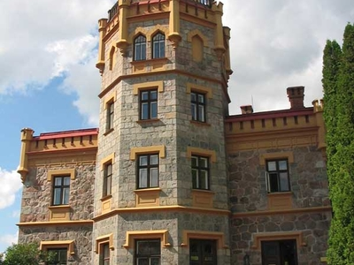 Sigulda  Castle Closeup