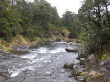 Silica Rapids View - Tongariro