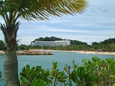 Siloso Beach In Sentosa
