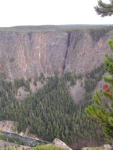 Silver Cord Cascade - Yellowstone - USA