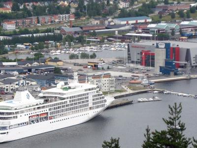 M/S Silver Shadow Visiting Örnsköldsvik