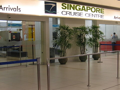 Singapore Cruise Centre Arrival Hall