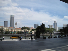 Singapore River At Boat Quay