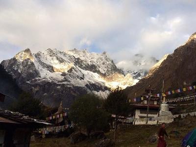 Singye Dzong - View