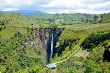 Sipiso Piso Falls Near Medan