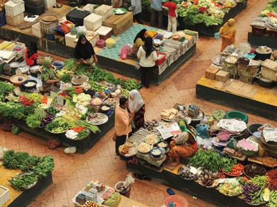 Siti Khadijah Market - Jalan Hulu