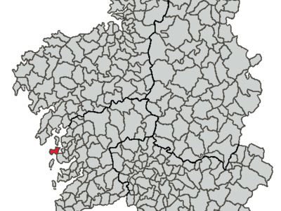 Situation Of O Grove Within Galicia