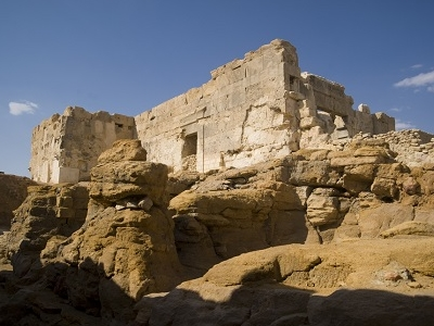 Siwa Oracle Temple In Egypt