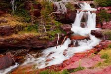Siyeh Bend Cut-Off Trail Cascades - Glacier - Montana - USA