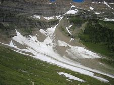 Siyeh Bend Trail Views - Glacier - Montana - USA