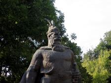 Statue Of Skenderbeg