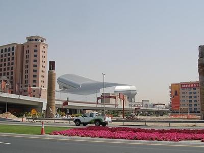 Ski Dubai Seen From The Sheikh Zayed Road
