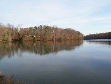 Skiffe Creek Reservoir At Border Of James City County And Ne