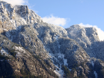 Skimmerhorn Mountains In Creston