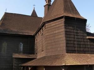 Skrzyszow - la iglesia más grande de madera