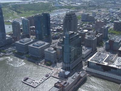 Skyline Of Downtown Jersey City